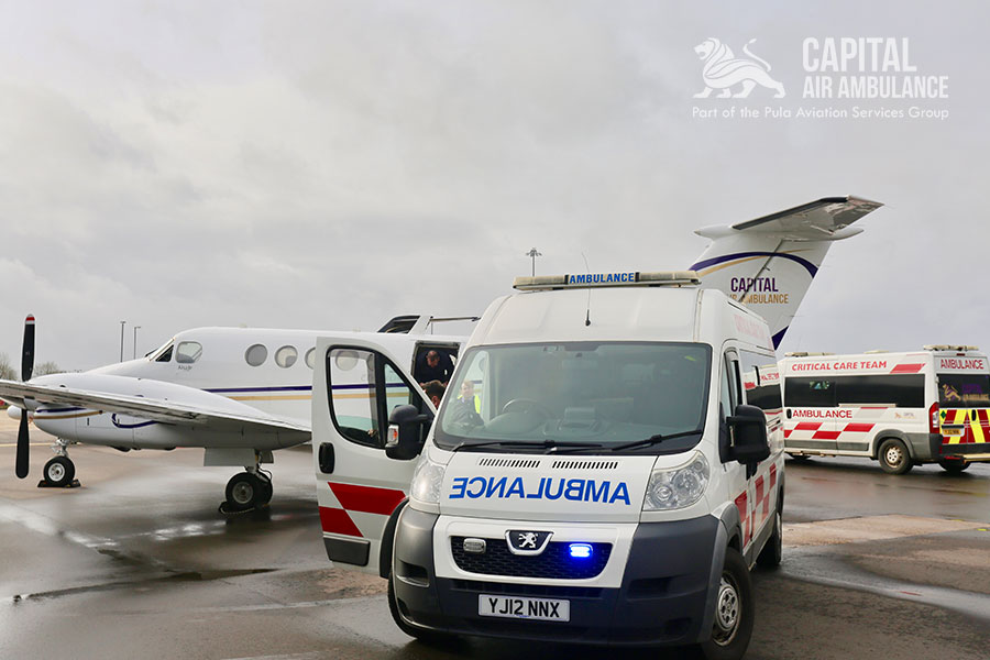 Capital Air Ambulance receives CQC approval and a Home Office license for controlled drugs